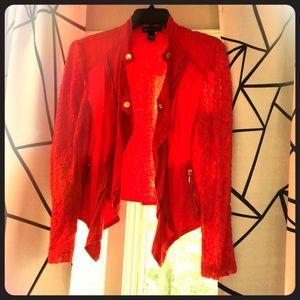 INC International Concepts Jackets & Coats - Red Jacket